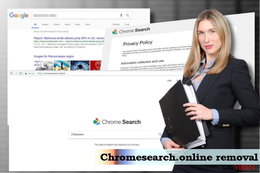 Chromesearch.online-Virenentfernung