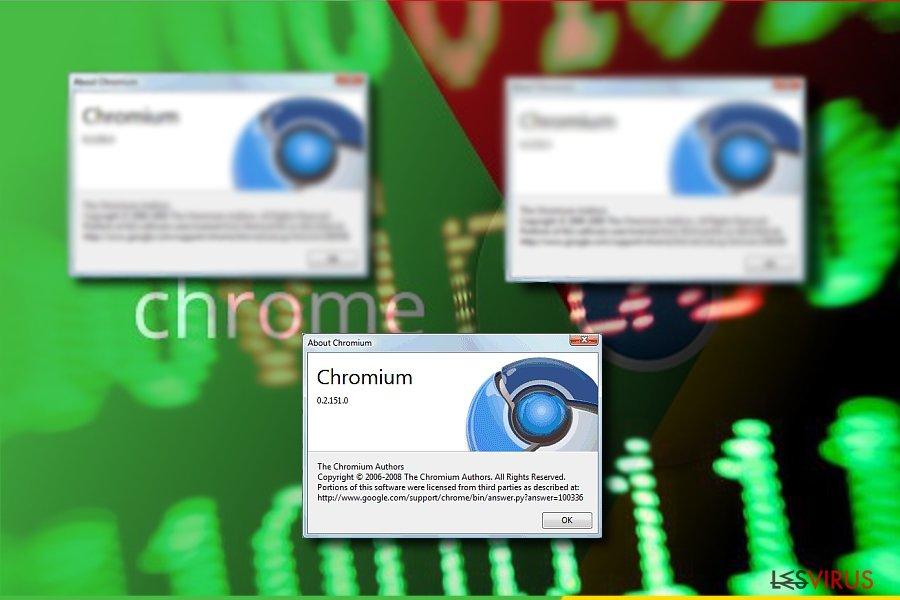 Die Abbildung zeigt Chromium