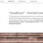 Anzeigen von CloudScout-Screenshot