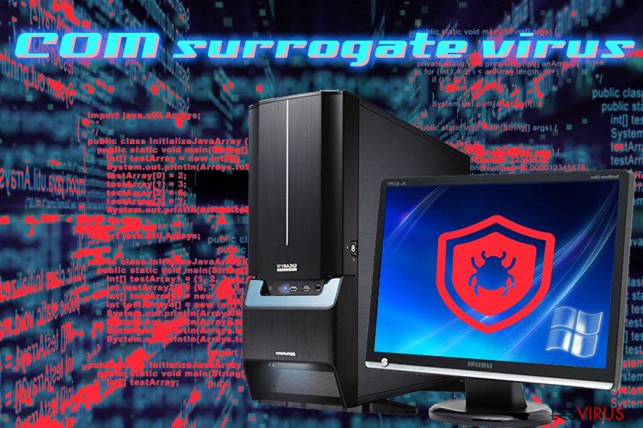 Infizierung mit einem COM Surrogate Virus