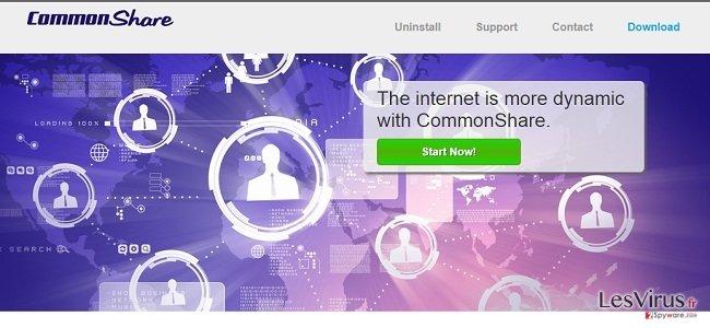 CommonShare Anzeigen und CommonShare Angebote-Screenshot