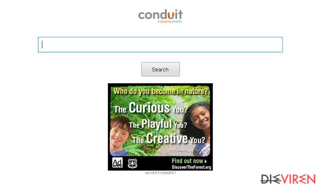 Storage.conduit.com redirect-Screenshot