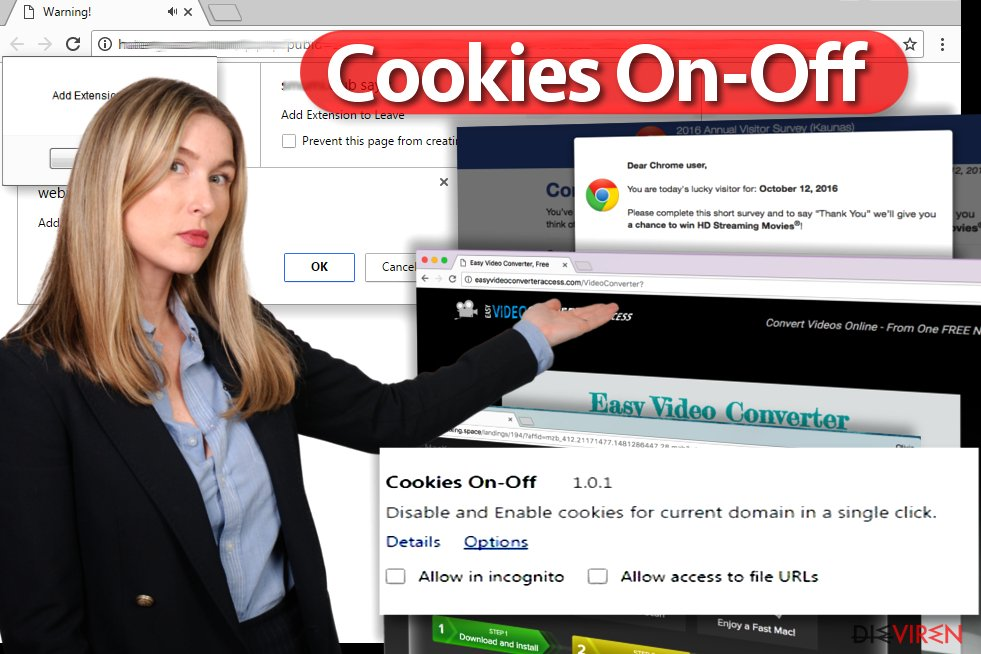 """Cookies On-Off""-Virus"