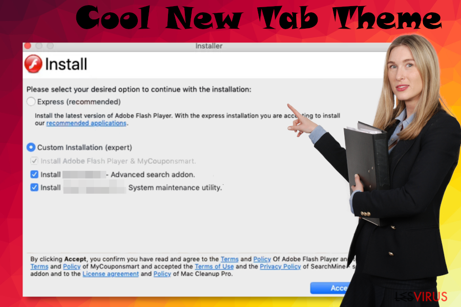 Die Malware Cool New Tab Theme