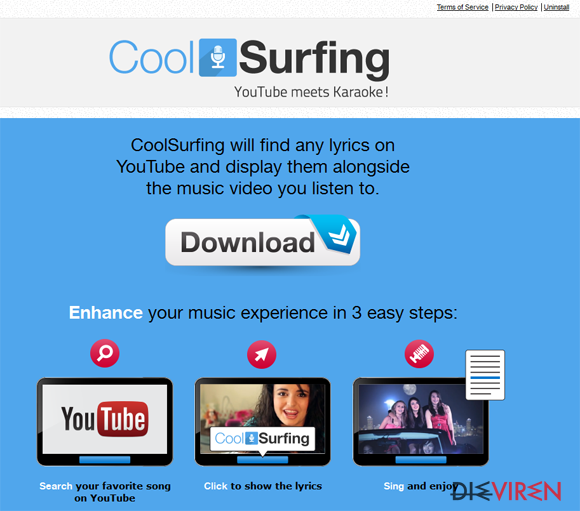 CoolSurfing-Screenshot