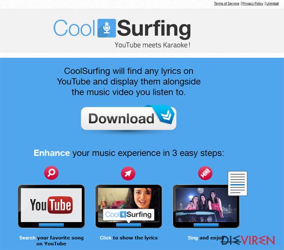 CoolSurfing-Screenshot