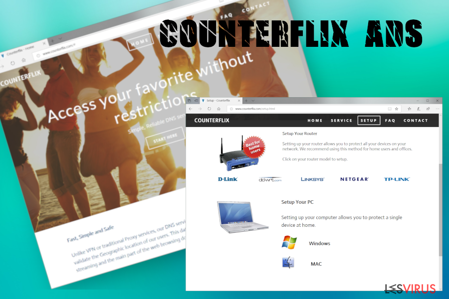 Counterflix-Screenshot