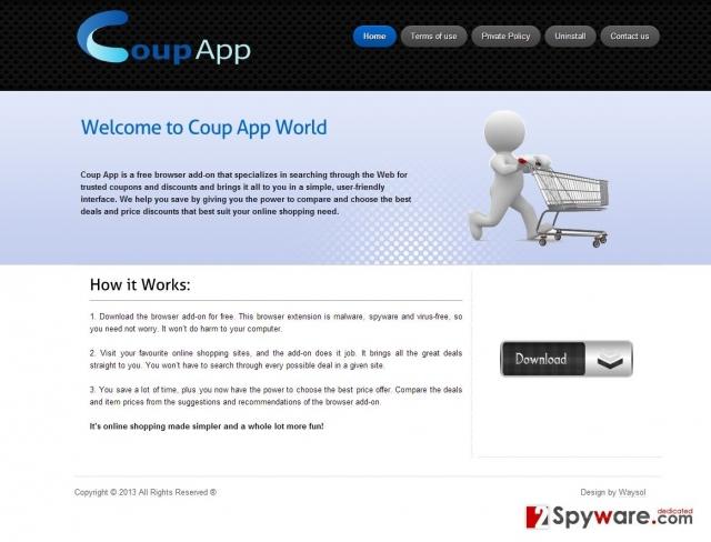 CoupApp-Anzeigen-Screenshot