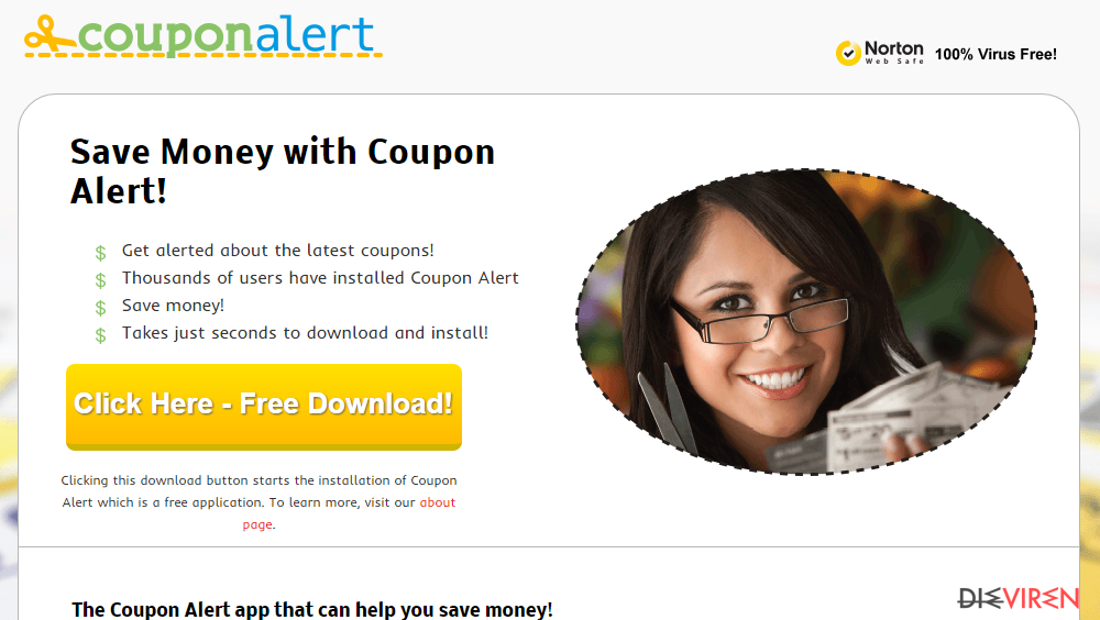 Coupon Alert-Screenshot
