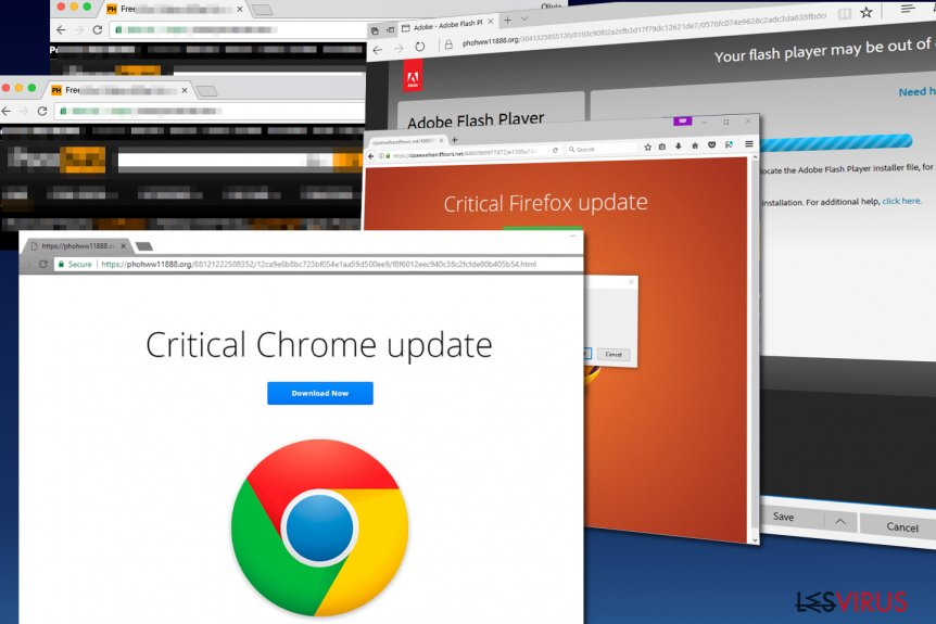 Schadsoftware Critical Chrome Update