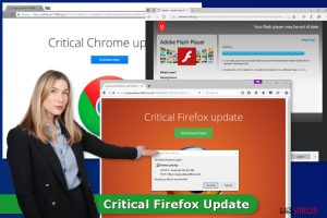 """""""Critical Firefox Update""""-Virus"""