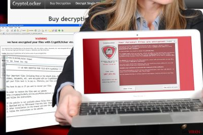 Crypt0l0cker Virusabbildung