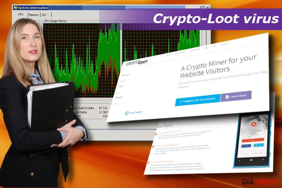 Der Crypto-Loot-Virus kann für ein langsames und nicht reagierendes System sorgen, sowie Abstürze verursachen