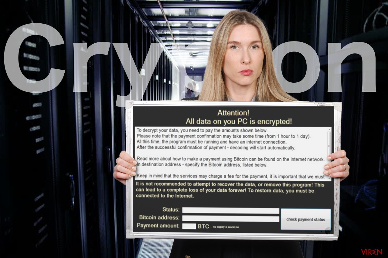Abbildung Crypton-Erpressersoftware