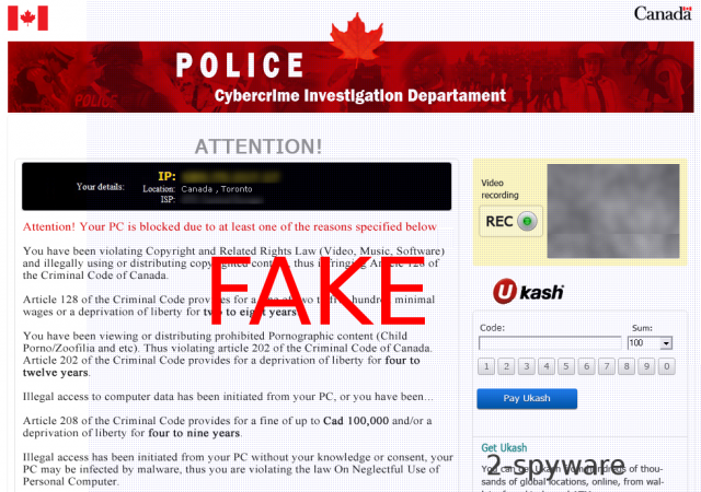 Cybercrime-Investigation-Department-Virus-Screenshot