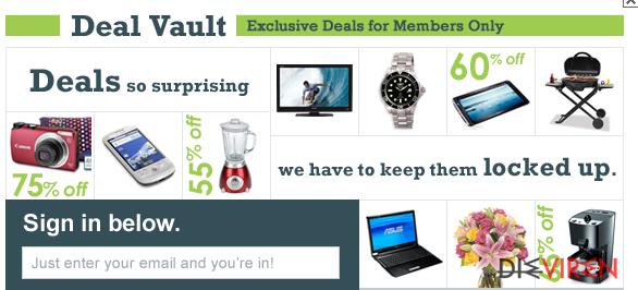 Deal-Vault-Virus-Screenshot