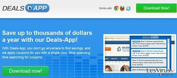 Anzeigen von Deals App-Screenshot