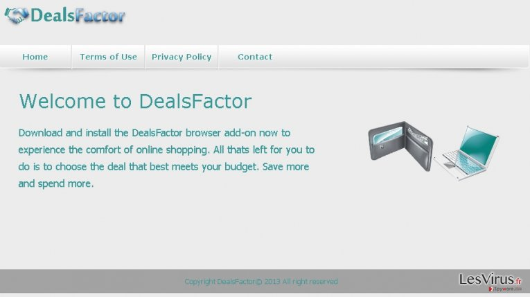 DealsFactor-Virus-Screenshot