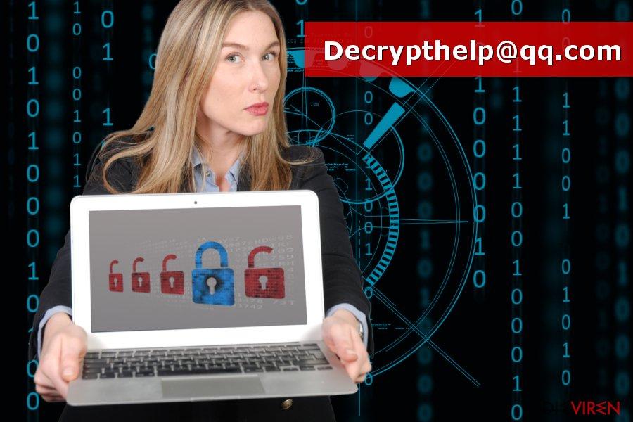 Bild Decrypthelp@qq.com-Virus