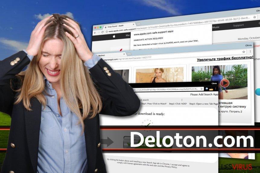 Deloton.com-Anzeigen