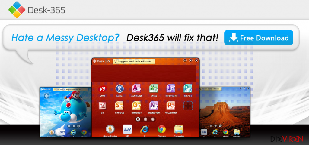 Desk 365 virus-Screenshot