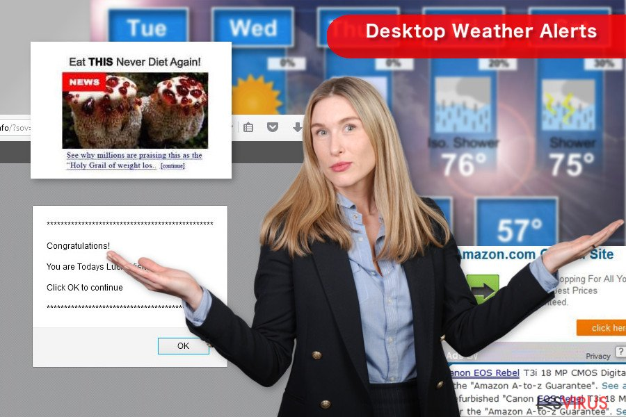 Desktop Weather Alerts-Screenshot