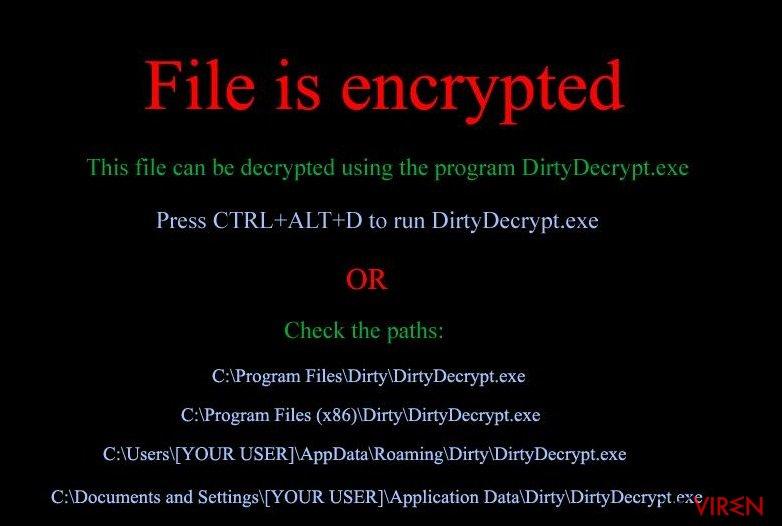 DirtyDecrypt-Screenshot