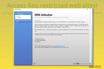 DNS Unlocker adware