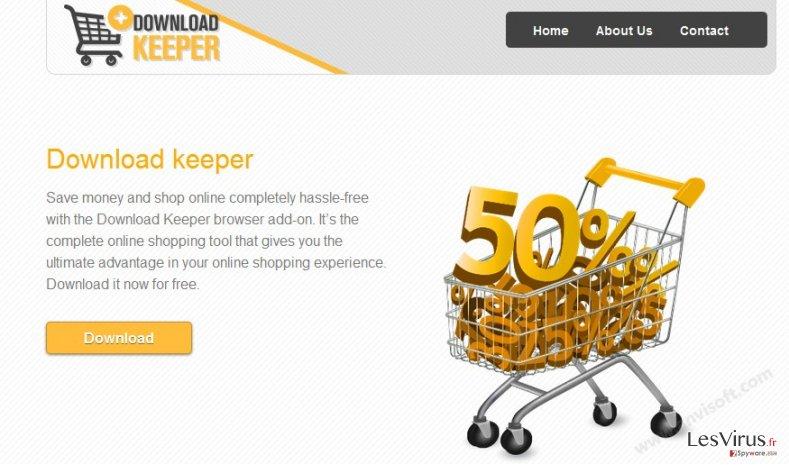 Anzeigen von Download Keeper-Screenshot