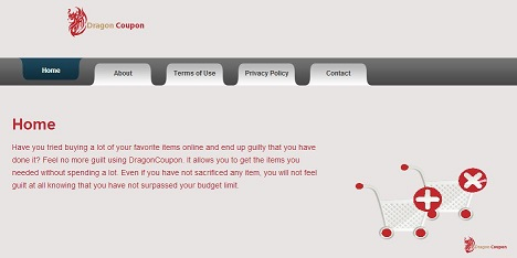 DragonCoupon-Virus-Screenshot