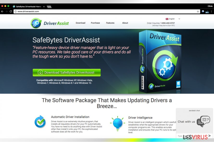 Driver Assist von SafeBytes