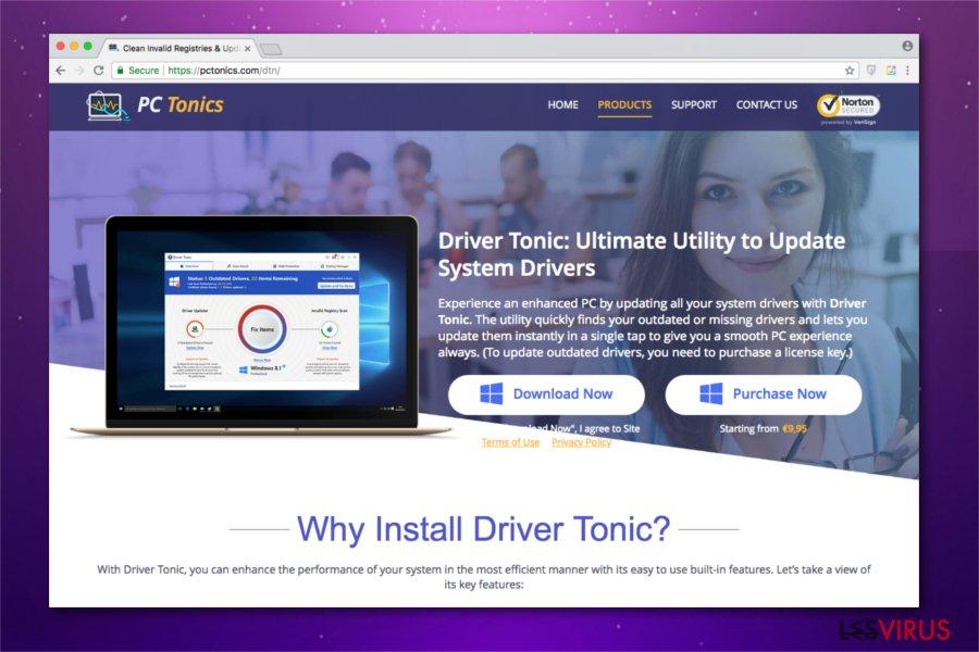 Abbildung Driver Tonic