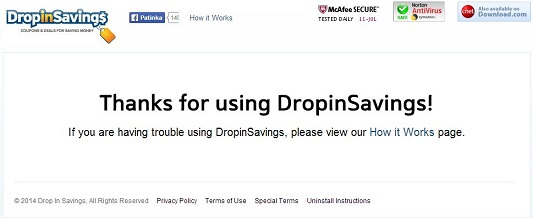 DropinSavings-Virus-Screenshot