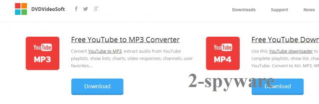 DVDVideoSoft Toolbar-Screenshot