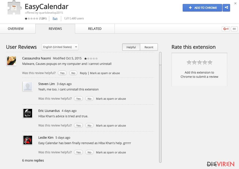 EasyCalendar-Screenshot