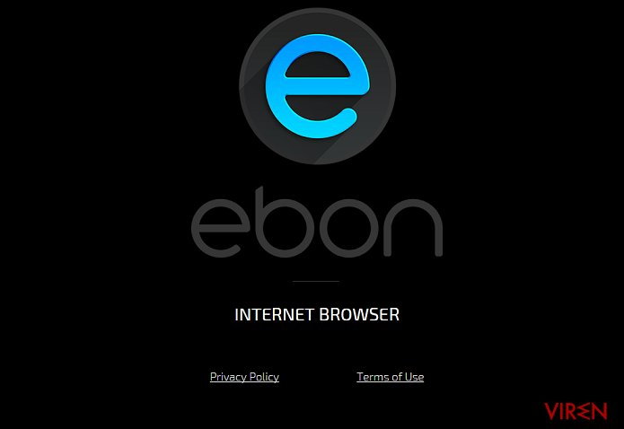 Ebon Browser-Screenshot