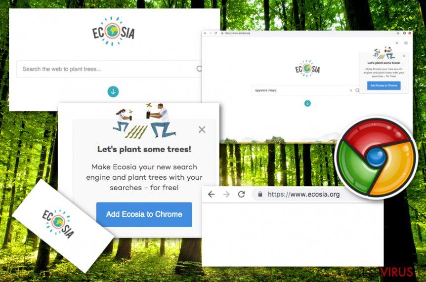 Ecosia.org-Virus-Screenshot