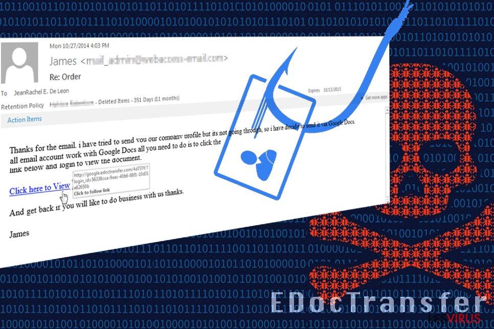 EDocTransfer-Betrug