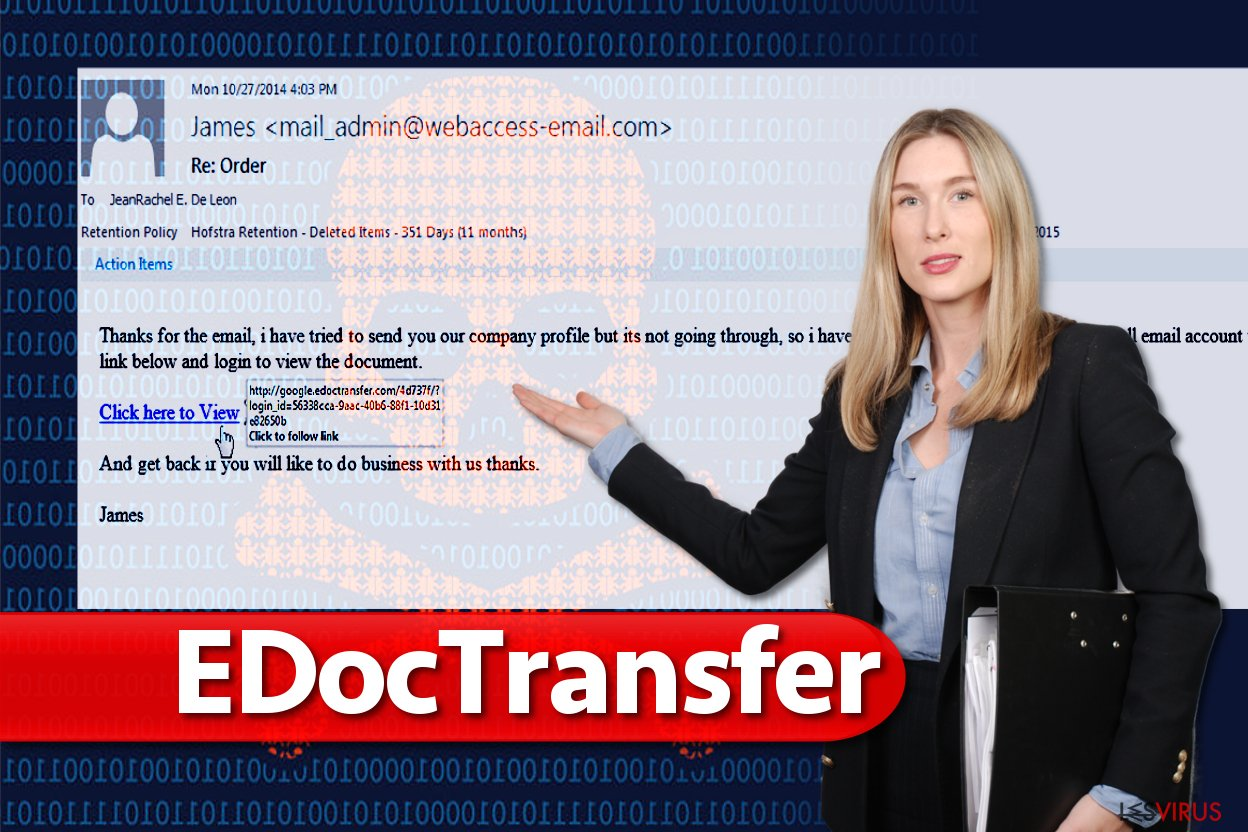 EDocTransfer-Virus