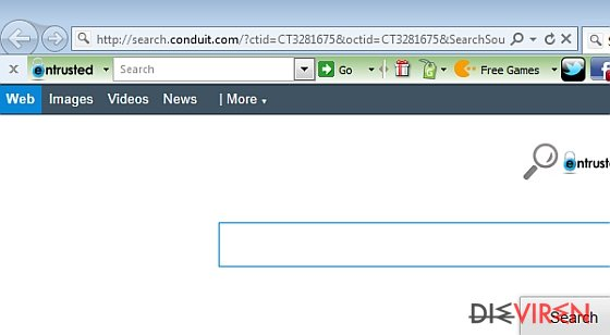 Entrusted Toolbar-Screenshot