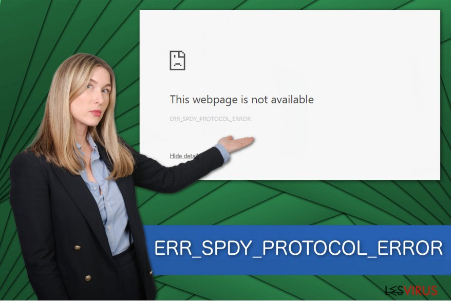 Illustration ERR_SPDY_PROTOCOL_ERROR