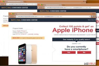 """National Consumer Center""-Anzeigen"