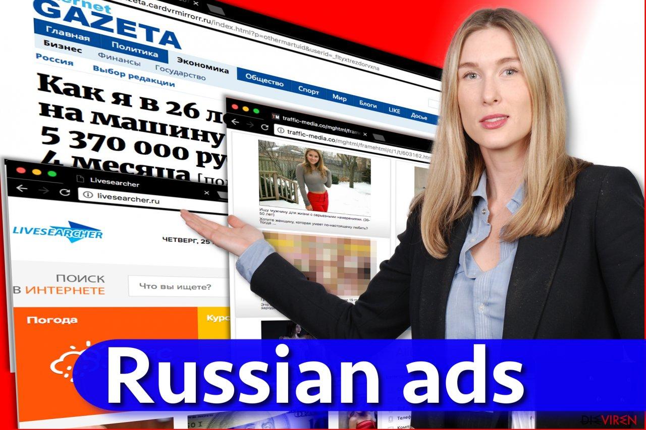 Russischer Anzeigenvirus