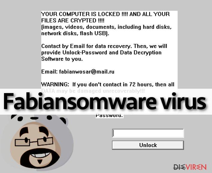 Fabiansomware virus attack