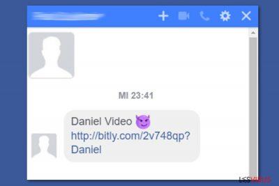 Facebook video virus