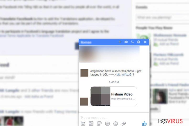 Facebook Viren