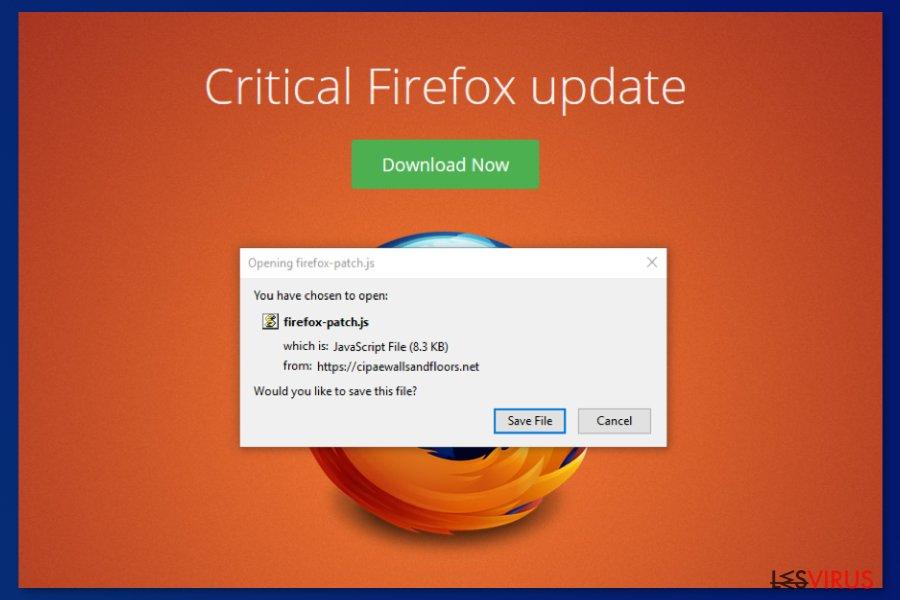 Kritisches Firefox Update