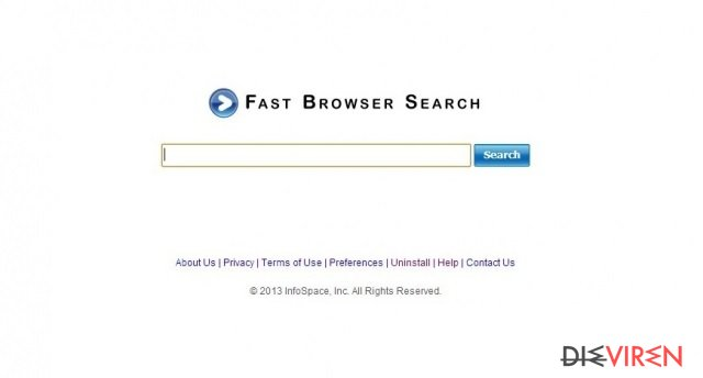 Fast Browser Search
