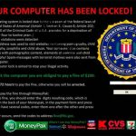 FBI Virus Black Screen-Screenshot