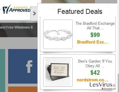 Anzeigen von Featured Deals-Screenshot